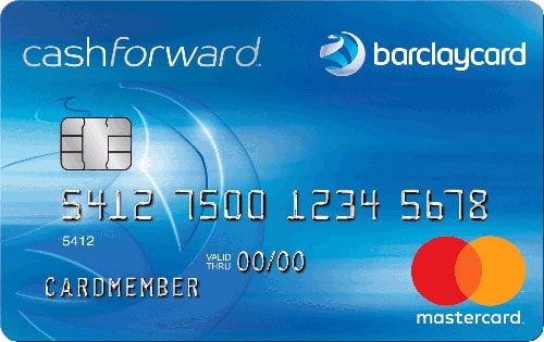 Barclaycard Cash forward World MasterCard Credit Card Application